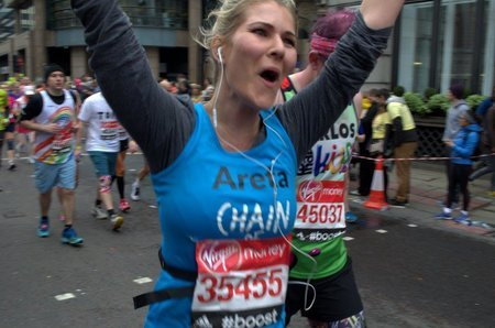 Running to Give Hope, Virgin London Marathon 2015
