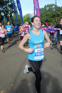 Run the 2021 Royal Parks Half Marathon for Chain of Hope