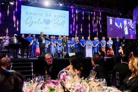 Chain of Hope Gala Ball 2019 Raises Vital Funds for Children with Heart Disease.