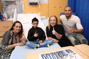 Chris Eubank Jr, Emma, Abuzar and Mum