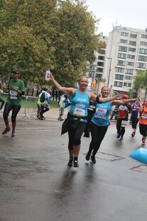 Royal Parks runners brave wet conditions for children suffering from heart disease