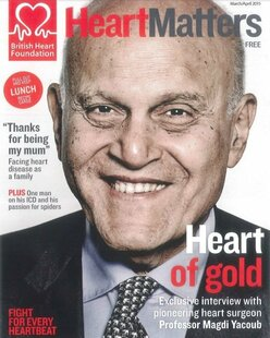 Interview with Professor Sir Magdi Yacoub, OM
