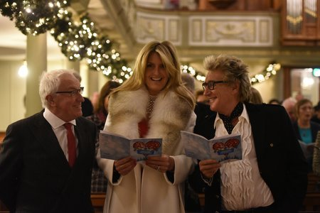 Celebrity supporters get into Christmas spirit for Chain of Hope Carol Concert 2017