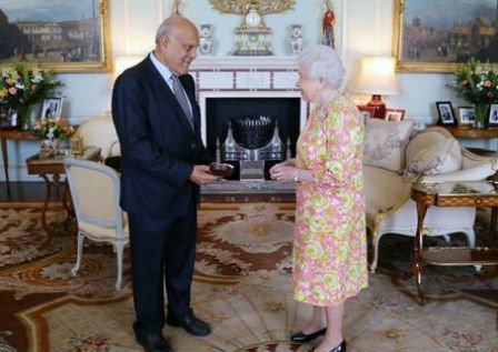 Professor Sir Magdi Yacoub receives the Order of Merit