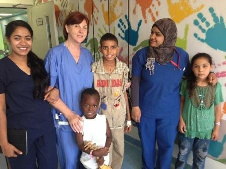 Nursing Training at the Aswan Heart Centre