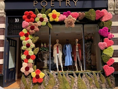 Fashion brand 'Poetry' link with Chain of Hope