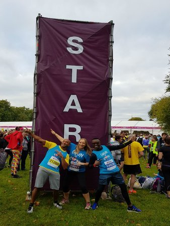 Royal Parks Half Marathon 2017 - Our Runners!